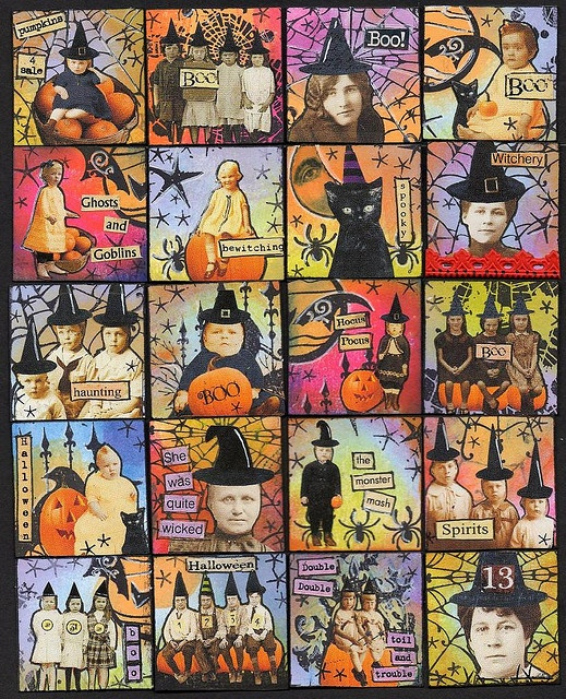 halloween fat inchies, nice mix. Makes me smile.