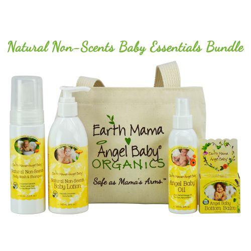 Natural Non-Scents Baby Essentials Bundle