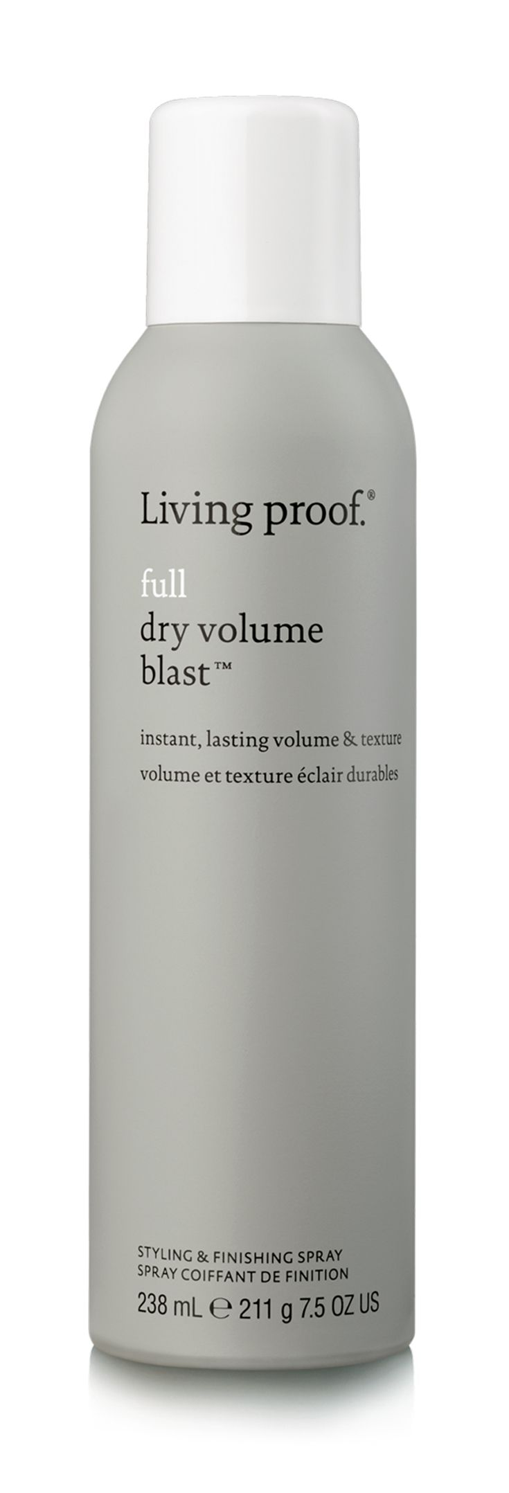 Living Proof Full Dry Volume Blast creates volume and texture that's (almost) as light as air and gives big, lasting results.