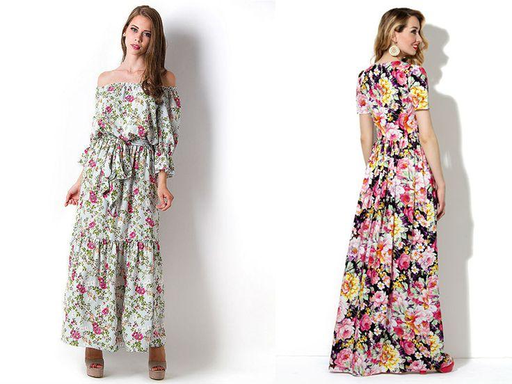 Платья из штапеля: прекрасный выбор для романтичных дам