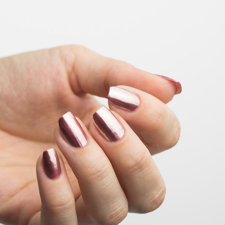Ciate London Chrome Nail Polish: Best 25+ Mirror Nails Ideas That You Will Like On