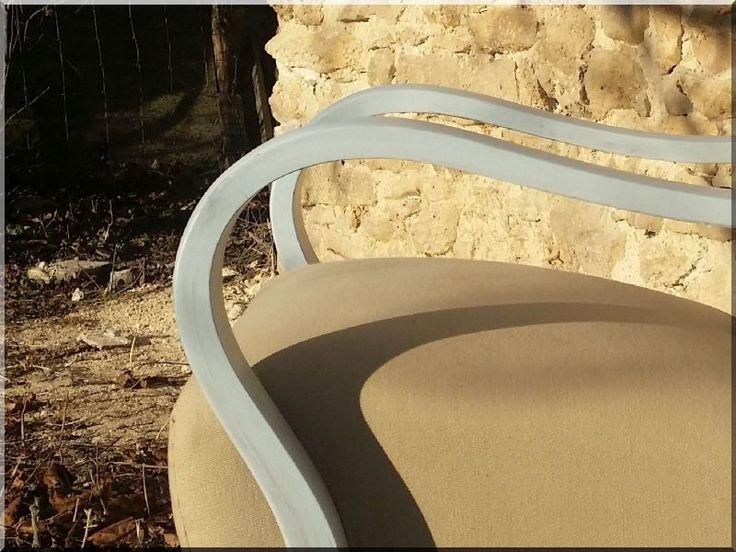Art deco fotel, bútorfelújítás