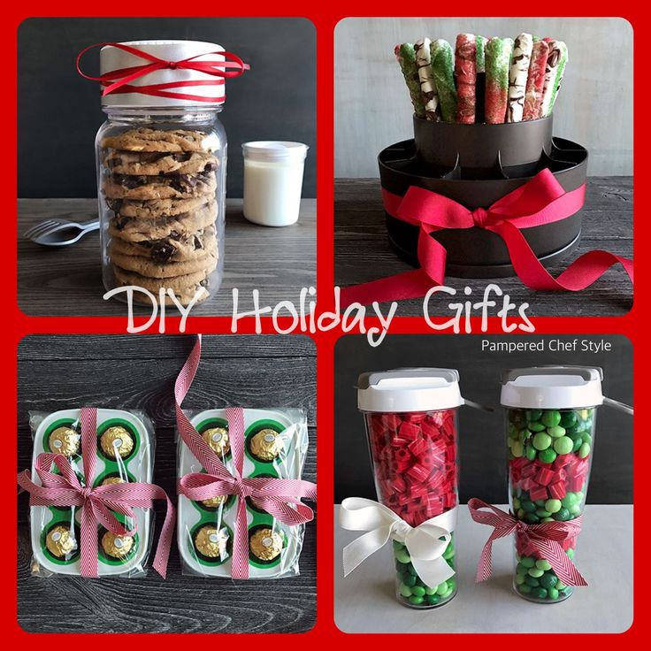 Holiday homemade gifts pampered chef style!