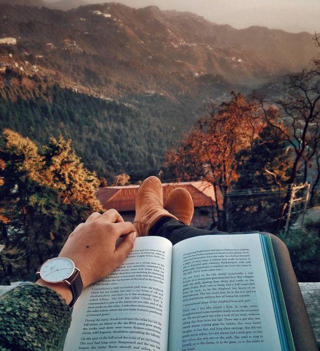 # Natur #Buch #Keyif #Buch #Lesen #Baum #Fall #Autunm