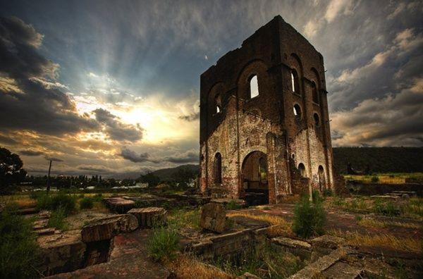 Blast Furnace Ruins, Lithgow, NSW, Australia