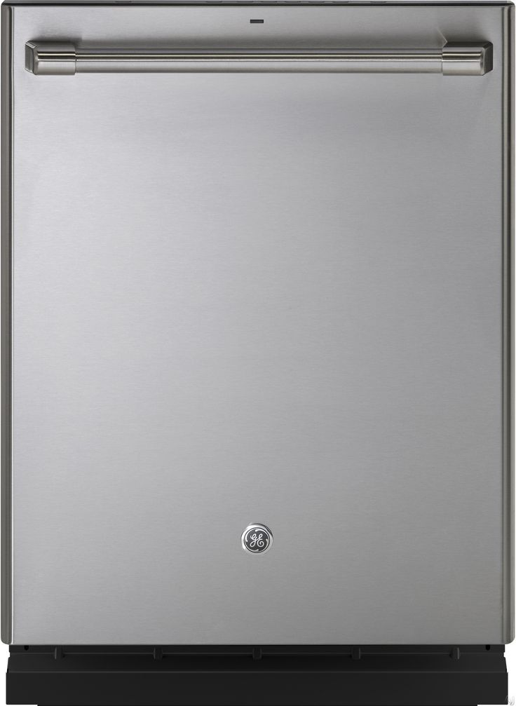 GE Cafe Series CDT835SSJSS 24 Inch Fully Integrated Dishwasher with 5 Wash Cycles 16 Place Setting Capacity Hard Food Disposer Adjustable Tines Bottle Jets Silverware Jets Side Jets Wash Zones Stainless Steel Interior Silence Rating of 45