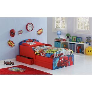 Buy Spider-Man Toddler Bed with Drawers at Argos.co.uk - Your Online Shop for Children's beds, Children's beds.
