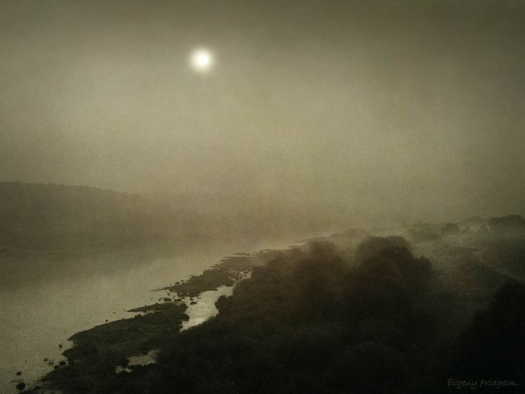 The fog on the river. © By Evgeny Fridgelm.