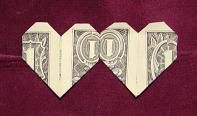 Tons of fun ways to fold money.  Take note, Tooth Fairy!