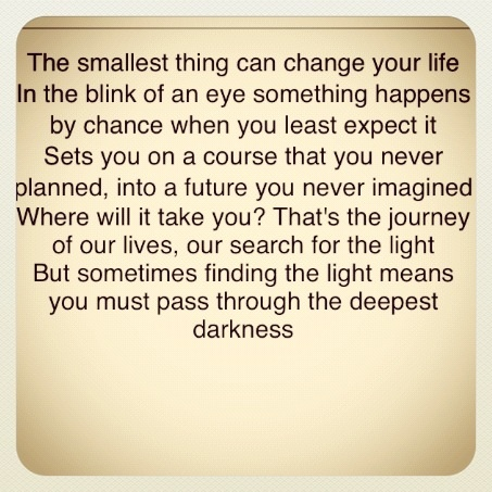 Nicholas Sparks- The Lucky One quote <3