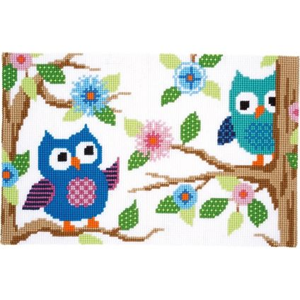 Owls Rug #foxcollection #crossstitch #craft