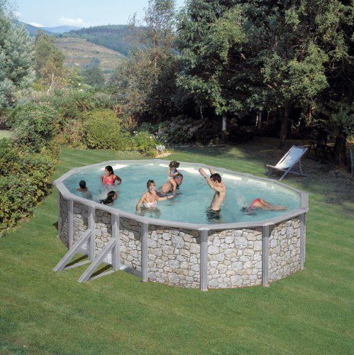 16 best Piscine en bois images on Pinterest Swimming pools - pool fur garten oval