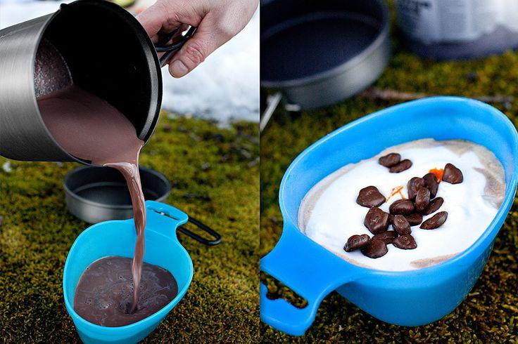 Varm choklad med vanilj och daim
