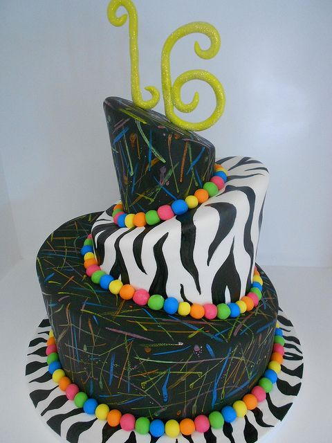 Zebra Striped Cake Mix