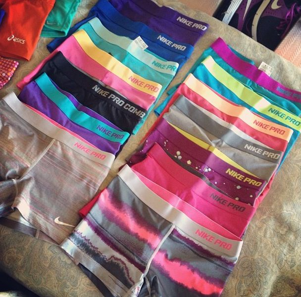 Nike pro♥  How CRUTE are these #Nike shorts?! #KeepItTight #MustCop