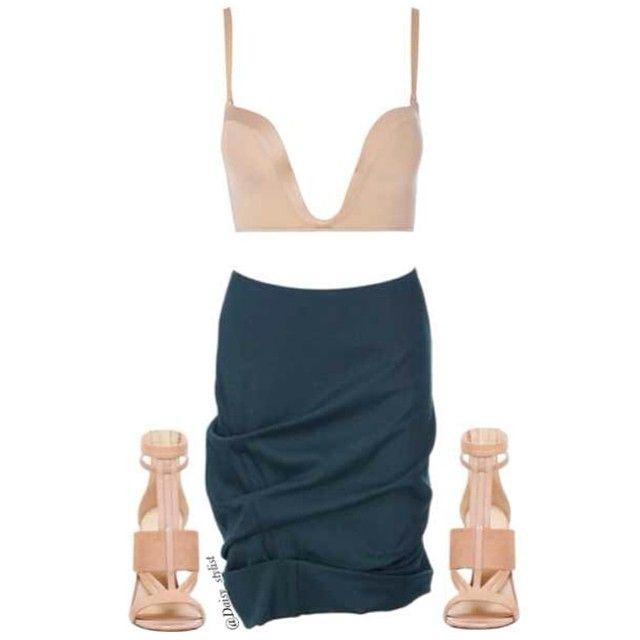 House of Fraser top, Donna Karan skirt, Nine West heels. Style for @thenuvogue #Fashion #Stylist #style #fashiondaily #inspiration #ninewest #donnakaran #tumblr #Padgram