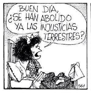 Injusticias Mafalda