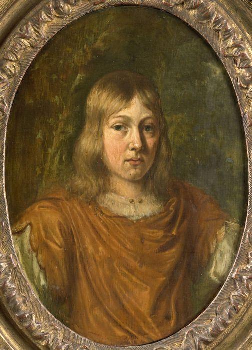 Ян Мирис, Jan van Mieris (1660 — 1690) — Portret van een jonge man (1690, Rijksmuseum)