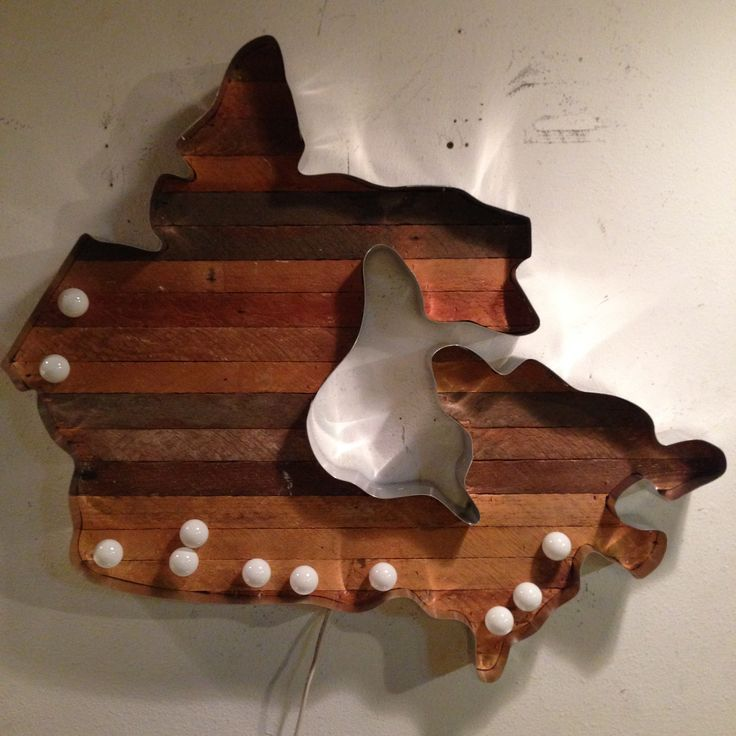 Canada Map Marquee Light