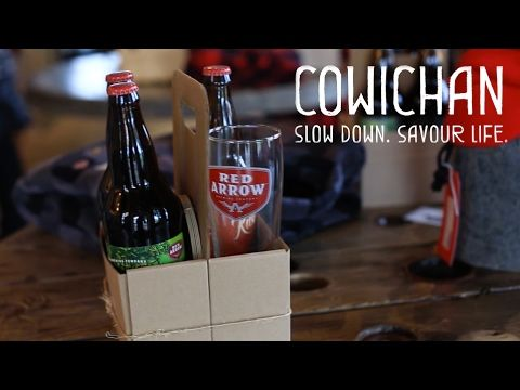 Tourism Cowichan - Red Arrow Brewing - YouTube