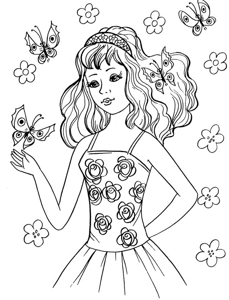 Top 25 best Coloring pages for teenagers ideas on Pinterest