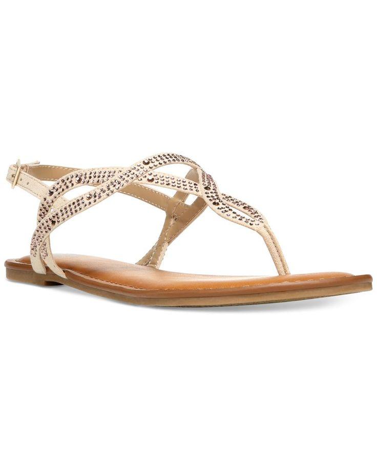 Fergalicious Sylvia T-Strap Flat Sandals - Sandals - Shoes - Macy's