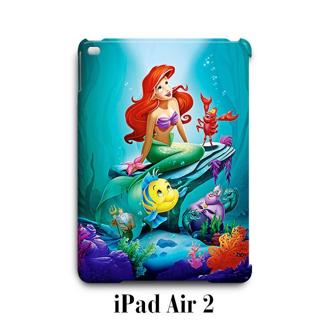 Ariel Little Mermaid iPad Air 2 Case Cover Wrap Around