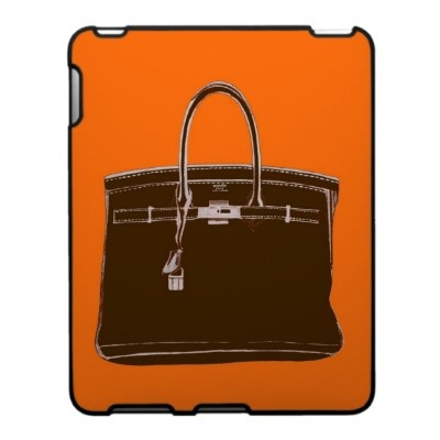 Annechovie Hermes bag iPad case. I have a gym bag festooned with