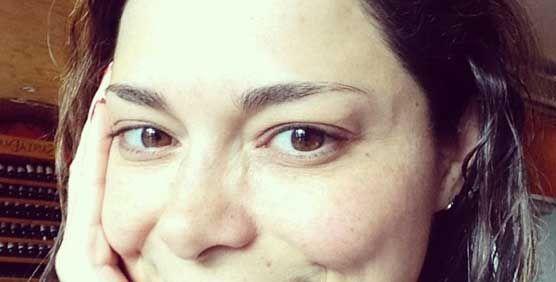 Selfies de famosas chilenas sin maquillaje