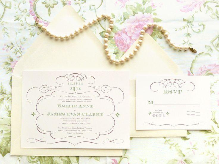 Fancy Wedding Invitations: 17 Best Ideas About Fancy Wedding Invitations On Pinterest