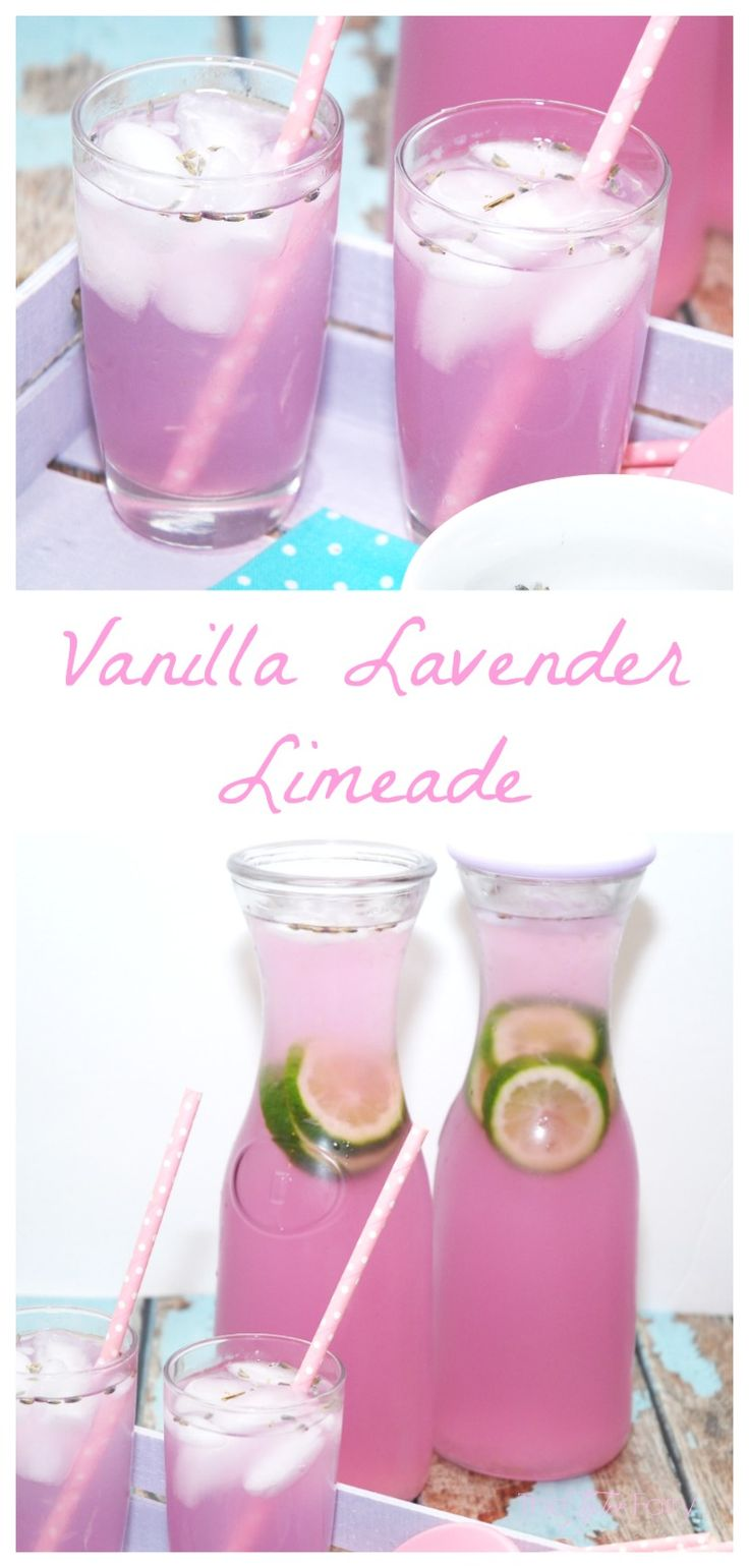 Looking for a refreshing spring drink? Check out this easy recipe for Vanilla Lavender Limeade. If you love lemonade, you'll love this soothing drink.