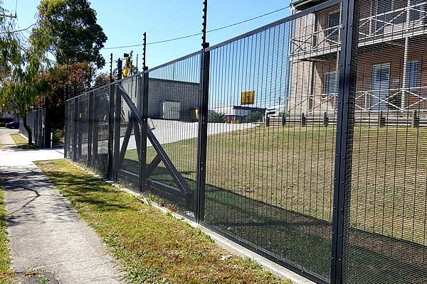 """anti climb fence specifications have:""""358"""" comes from its measurements 3"""" x 0.5"""" x 8 gauges which equates to approx. 76.2mm x 12.7mm x 4mm (Length x height x Diameter) in metric."""