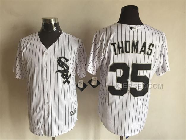 http://www.xjersey.com/white-sox-35-frank-thomas-white-new-cool-base-jersey.html WHITE SOX 35 FRANK THOMAS WHITE NEW COOL BASE JERSEY Only $35.00 , Free Shipping!