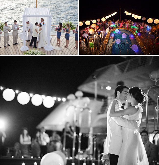 59 best Wedding Ceremony Reception aboard a YachtSailboat