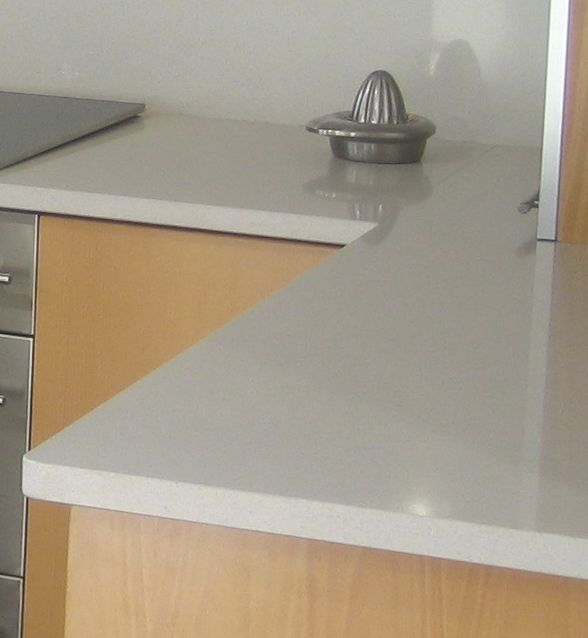 solid surface countertops bleached concrete cement kitchen countertops