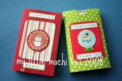 pocket advent calendar: Holiday, Pocket, Gift Ideas, Gum Advent, Advent Calendars, Craft Ideas, Christmas Ideas, Kid