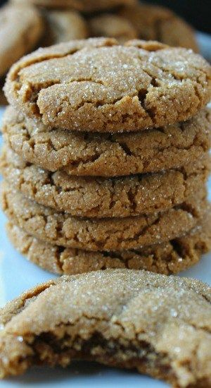 Soft Chewy Molasses Cookies More