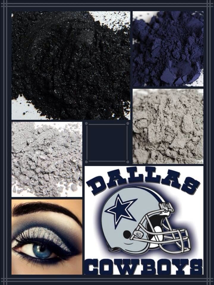 Support Dallas Cowboys game day!!! Get your Younique pigments here!! https://www.youniqueproducts.com/Tinanord