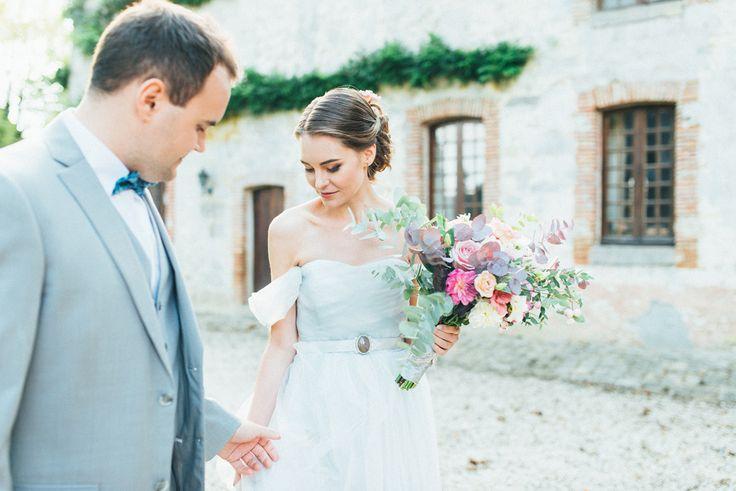 a fairly tale wedding princess and prince wedding