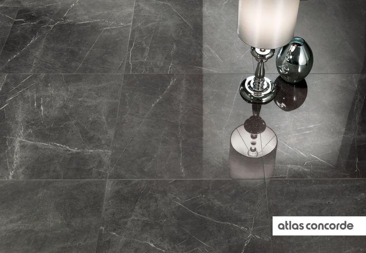 #MARVEL grey | #Floor design | #AtlasConcorde | #Tiles | #Ceramic