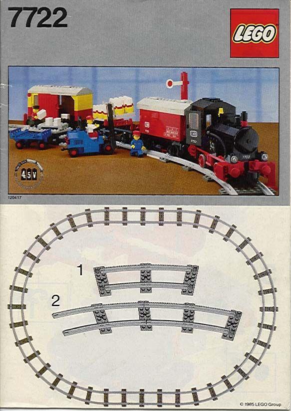 Lego Steam Cargo Train Set [7722]