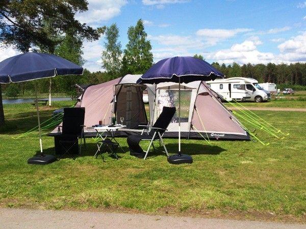 Campinglista för oss som tältar lite bekvämt