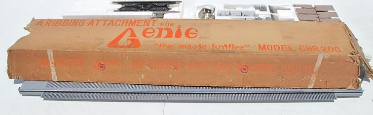 Magic Knitter Ribbing Attachment Genie Corona Knitting Machine Company CHR200 #Corona