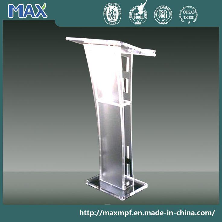 Foto de Atriles de acrílico modernos del tablero de la mesa del plexiglás del púlpito de la iglesia en es.Made-in-China.com