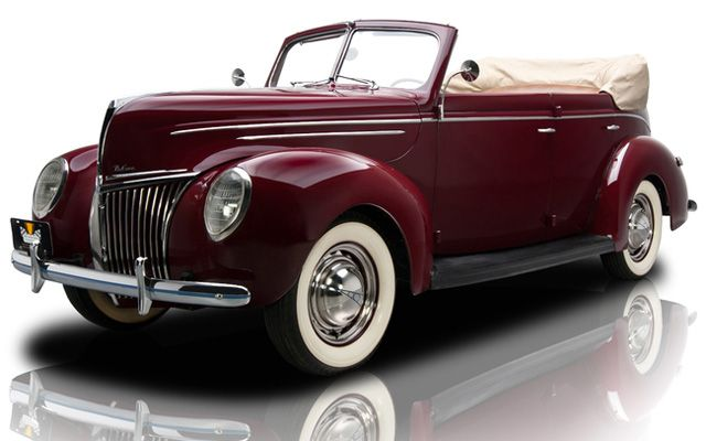 1939 Ford Deluxe Convertible.