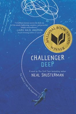 """Sharn at Jack Miner Senior Public School just read Challenger Deep by Neal Shusterman: """"Challenger Deep is a captivating novel dealing with mental illness. The story describes Caden Bosch, a young teen struggling to cope with mental illness. Caden believes he is on a ship to Challenger Deep, the deepest point in Mariana's Trench. Dealing with schizophrenia and bipolar disorder, he is torn between two worlds. Is he on a ship to Challenger Deep?"""" *****"""