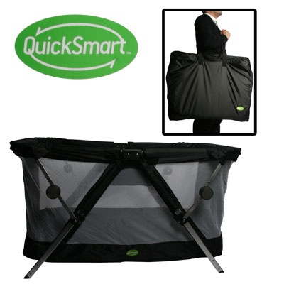 Quicksmart travel cot | Travel cot, Baby strollers, Baby gear