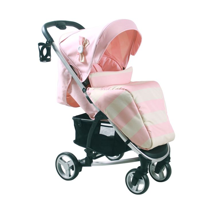 Billie Faiers My Babiie MB99 Stroller - Pink Stripes