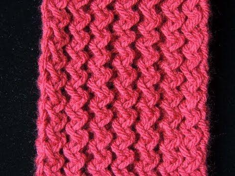 DIY Cómo hacer bufanda cerrada o cuello de lana a punto bobo « foop TV