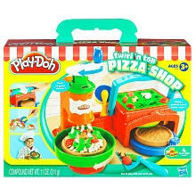 Play-Doh Twirl 'n Top Pizza Shop Playset